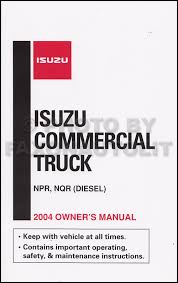 1999 2004 diesel engine 4he1 tc repair shop manual isuzu npr nqr related items