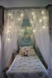 bed canopy ideas bedroom luxury curtains with white diy headboard ...