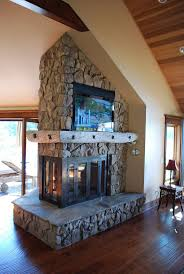 double sided gas fireplace insert see through ventless gas fireplace insert double sided fireplace