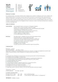 Retail Manager Job Description Stunning Assistant Store Manager Resume Summary Retail Management Samples