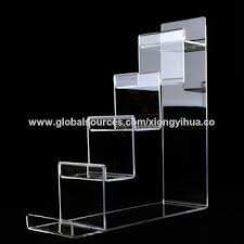 Acrylic Tiered Display Stands China 100tier Clear Acrylic Wallet Display Stand on Global Sources 36