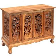 bamboo trees storage cabinet sideboard buffet thailand bamboo wood furniture