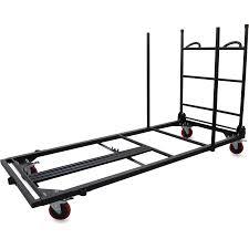 office trolley cart. Lorell Blow Mold Rectangular Table Trolley Cart LLR65956 Office