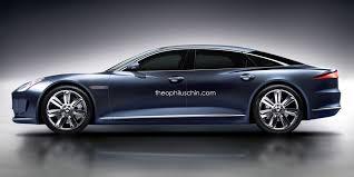 2018 jaguar models.  2018 jaguar xj render 2 600x300 at this is what the next should look  like for 2018 jaguar models