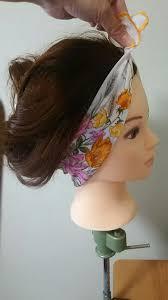 簡単な頭のバンダナスカーフの巻き方やヘアアレンジ24選