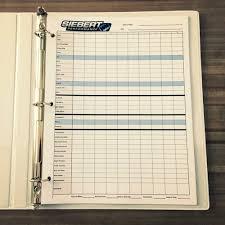 race log drag racing log book siebert performance