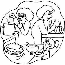 Small Picture Cooking Pumpkin Pie Coloring Page