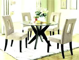 round glass dining table with chairs glass top kitchen table set glass top dining table sets
