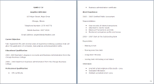 Example On How To Write A Cv Format For Cv Resume