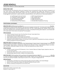 Example Of Chef Resume Executive Chef Resume Berathen Com Resumes Examples Cover Letter 5