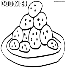 cookies8 cookies coloring pages
