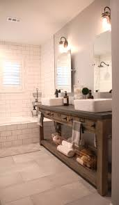 Bathroom Tilt Mirrors Bathroom Remodel Restoration Hardware Hack Mercantile Console