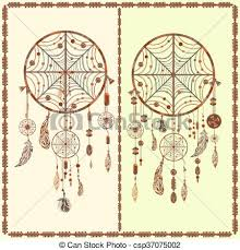 Spider Web Dream Catcher Simple Dream Catcher Ethnic Indian Feathers Beads Circles Dream Catcher