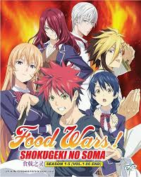 food wars shokugeki no soma season 2