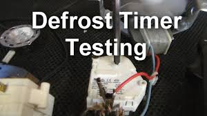 how to test your defrost timer how to test your defrost timer