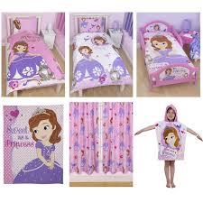 Princess Sofia Bedroom Disney Sofia The First Bedding Single Double Amp Junior Duvet