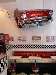 vintage diner decor throwback retro kitchen design ideas diners and  decorations