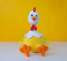 Crochet Chicken Pattern Cool Decorating Ideas