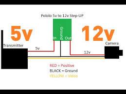 immersionrc tx step up wiring for 12v fpv cam immersionrc tx step up wiring for 12v fpv cam