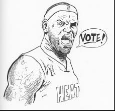 now lebron james coloring pages free library