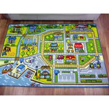 road rugs kids coast car activity play mats 92x1 33m 1x1 5m 1 33x1