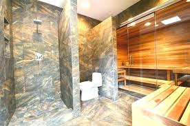 dulles glasirror glass traditional master bathroom with