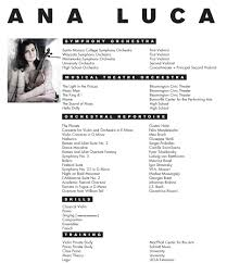 [ Music Resume Sample Music Resume Sample Resume