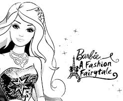 Small Picture Barbie in a Fashion Fairytale Color Pages Inkleur Pinterest