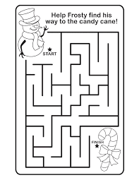 Small Picture Christmas maze Free Printable Coloring Pages For little ones