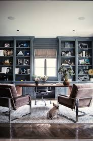 Office makeover ideas Small Office Home Office Decor Black Shelving Ideas Better Homes And Gardens Home Office Makeover Ideas That Mean Business