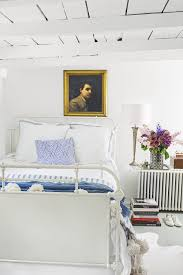 Bedroom ideas for white furniture Walls Country Living Magazine 35 Best White Bedroom Ideas How To Decorate White Bedroom