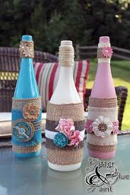 Wine Bottle Decorations Handmade 100 Creative DIY Projects Made With Burlap 90