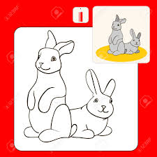 coloring book coloring book pages with cartoon ilration kids coloring pages with grey rabbits