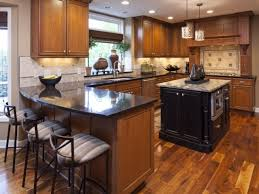 Hardwood Floors In The Kitchen Dark Hardwood Floors And Cabinets Extravagant Home Design