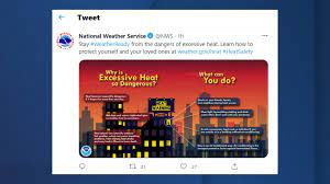 Excessive heat warning issued for the ...