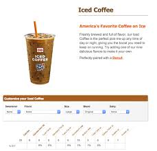Dunkin Calorie Chart Dunkin Donuts Iced Coffee 3 Grams Of Carbs Keto
