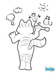Small Picture Cat picasso coloring pages Hellokidscom