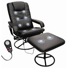 flash furniture leather heated reclining massage chair and ottoman. flash furniture 7320 leather massaging recliner with . heated reclining massage chair and ottoman a