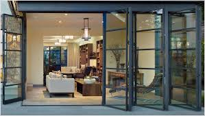 folding patio doors modern patio doors