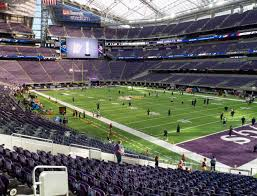 Us Bank Seating Chart Vikings U S Bank Stadium Section 103 Seat Views Seatgeek
