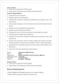 Qa Qc Resume Sample Administrativelawjudge Info