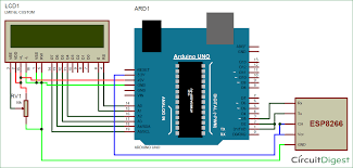 sending email using arduino uno and esp8266 wi fi module send email using arduino and wifi module circuit diagram