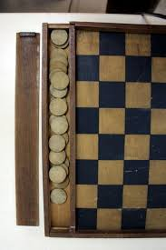 Old Wooden Board Games Antique wooden game boards chess backgammon checkers domino 65