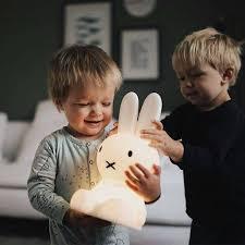 Mr Maria Eerste Licht Nijntje Konijn Lamp Design Bazar