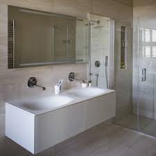 shower images modern. Simple Images Sleek Modern Shower Room With Twin Basins And Large Format Tiles To Shower Images Modern W