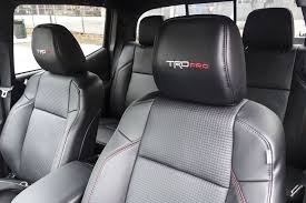 1481906112 toyota tacoma trd pro review bloomberg 11 leather trimmed seats