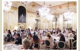 in order to celebrate the first anniversary of angelic pretty paris a tea party took place at le meurice near the jardin des tuileries