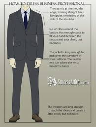 business professional attire for men a complete guide success we wouldn t want people thinking that right so let s see what a good fit is in the following infographic