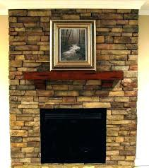 lava rock fireplace s cleaning makeover