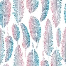 feather patterns colorful tribal feather pattern vector free download